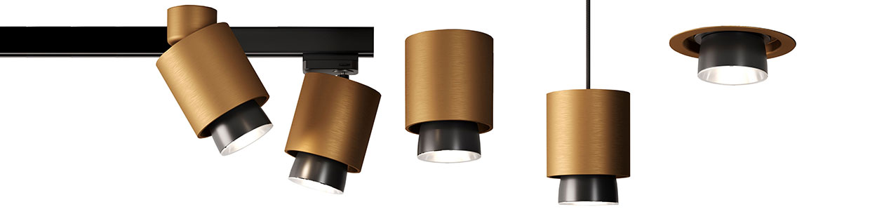 Claque lamp collection Fabbian