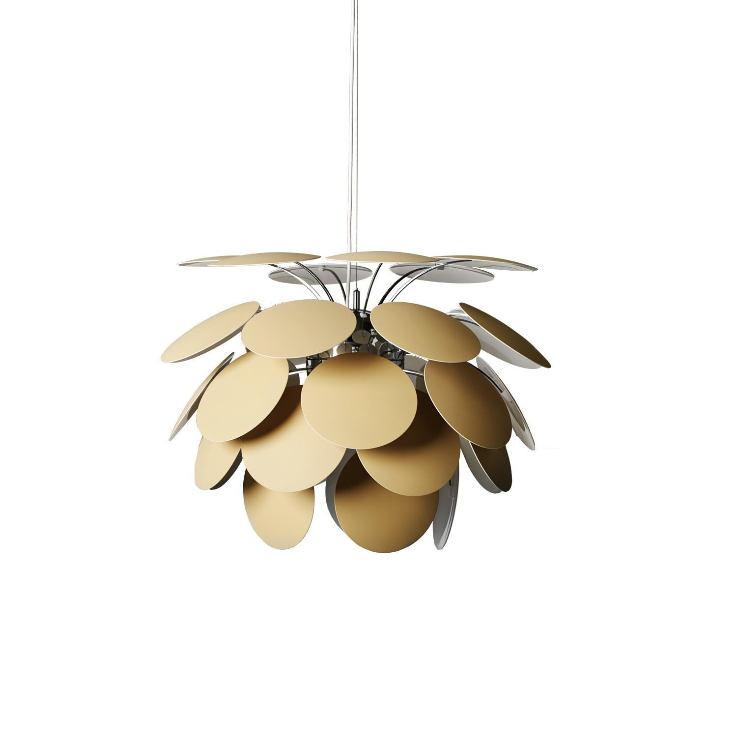 discoco 132 impressive giant pendant light lampefeber. Black Bedroom Furniture Sets. Home Design Ideas