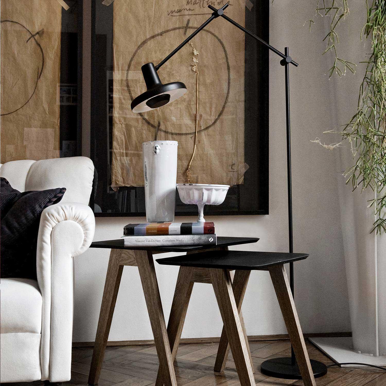 Simple White Floor Lamp