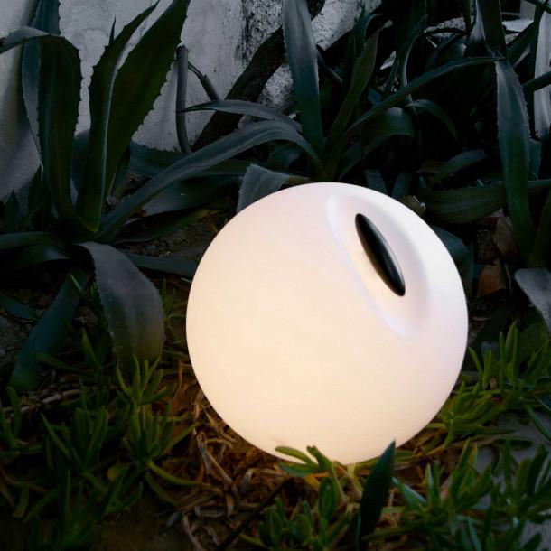 Bowl utendørs lampe med original detalj Lampefeber