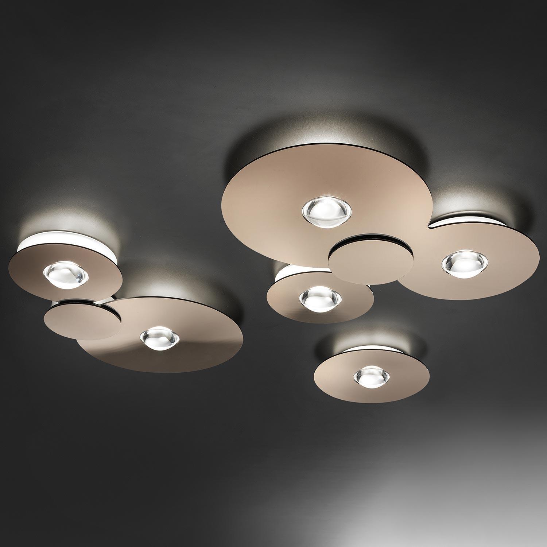 Bugia Triple Smart Ceiling Light With Lenses Lampefeber