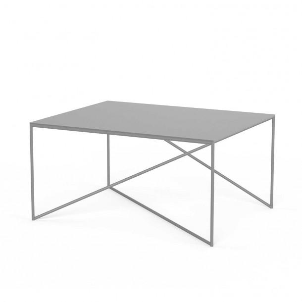 Dot L Table grey