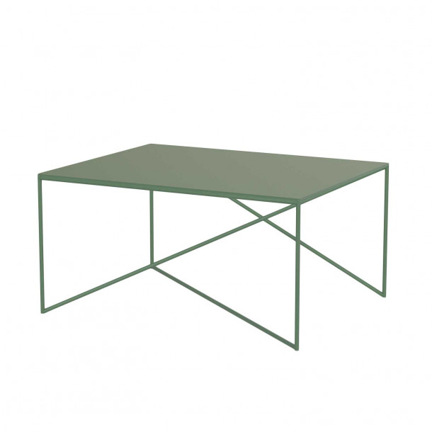 Dot L Table green