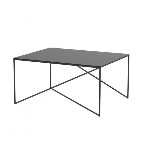 Dot L Table black