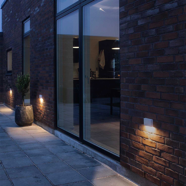Flatbox Outdoor Wall Light Lampefeber