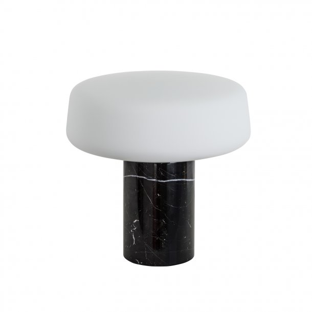 Solid Light - Small - Nero Marquina Marble Table Lamp