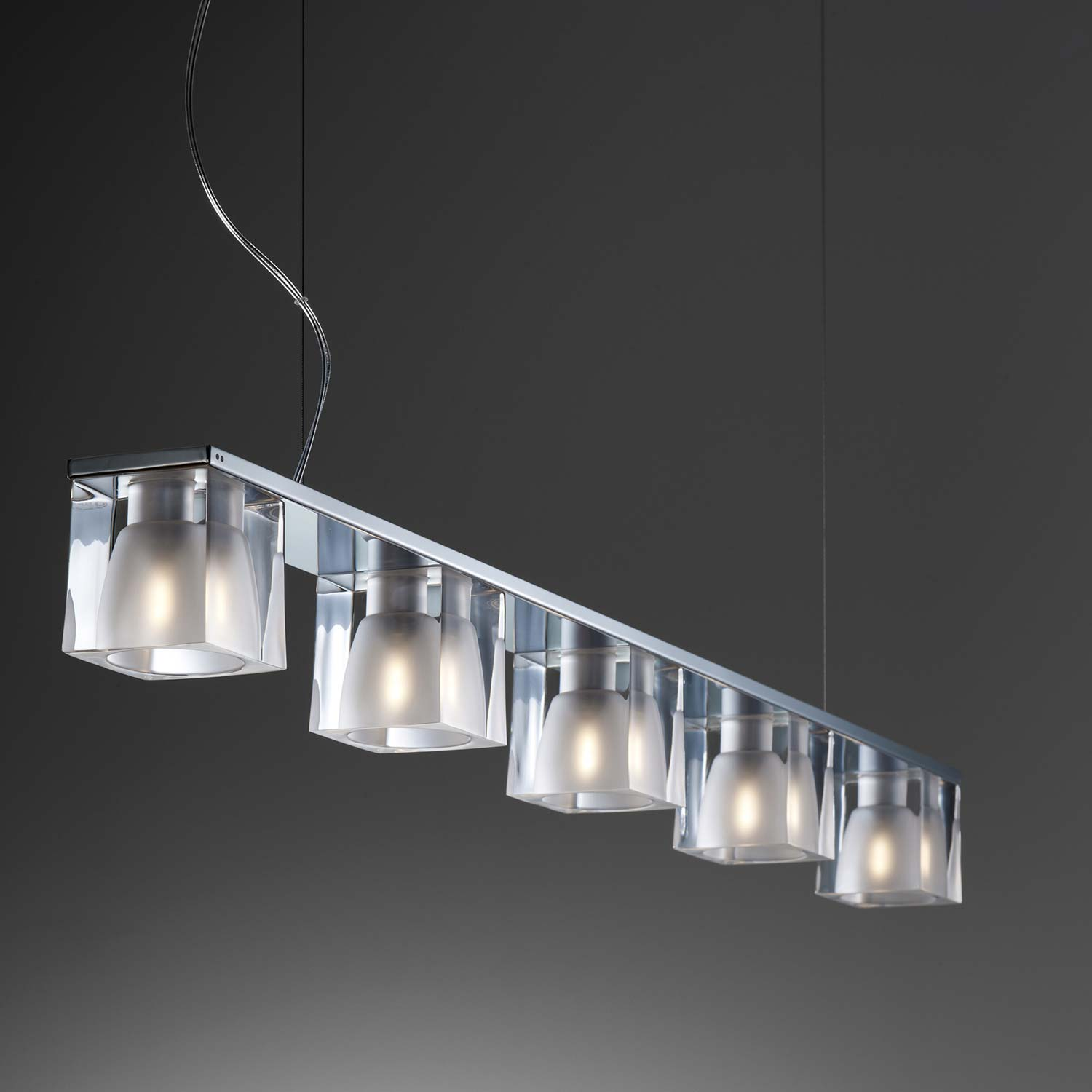 Ice Cube Pendant Light With Modern Italian Design Lampefeber