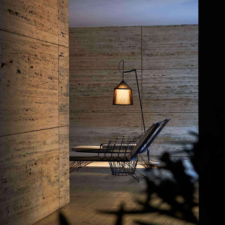 Picture of: Jaima Outdoor Floor Lamp Lampefeber Lampefeber
