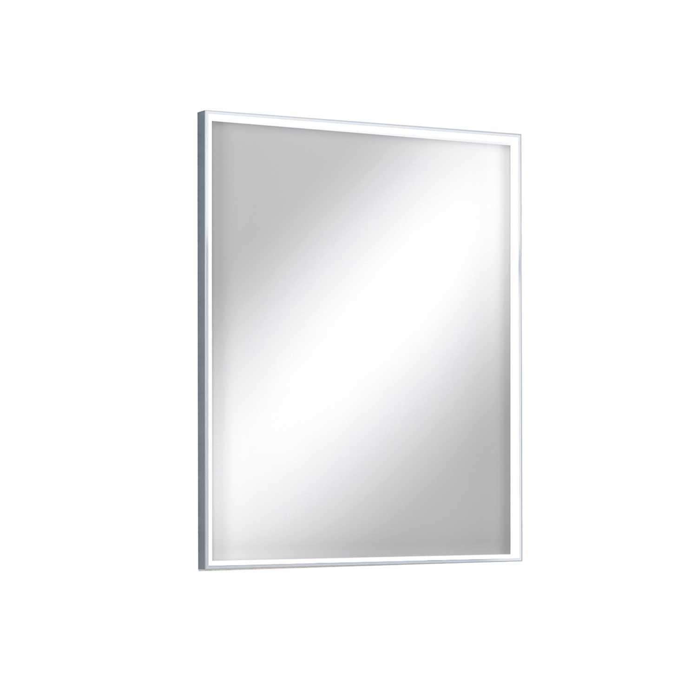 Lumen Light speil med lys ved rammen Lampefeber