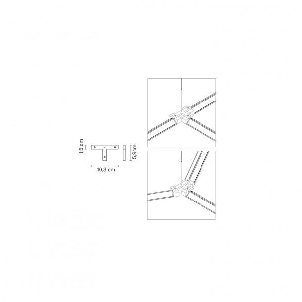 Connections 3 for Pivot Pendant Light