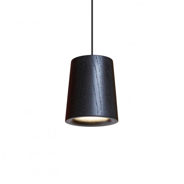 Solid Cone black Pendant Light