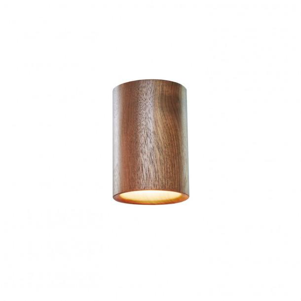 Solid Cylinder walnut Downlight Ceiling Spotlight