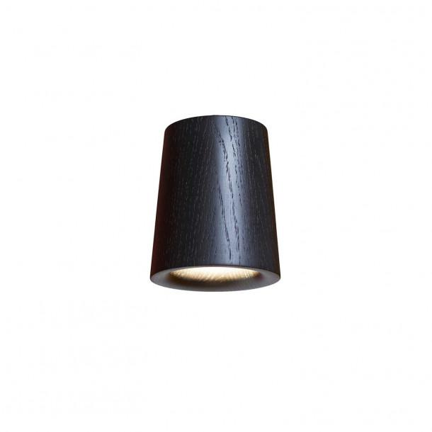 Solid Cone black Downlight Ceiling Spotlight