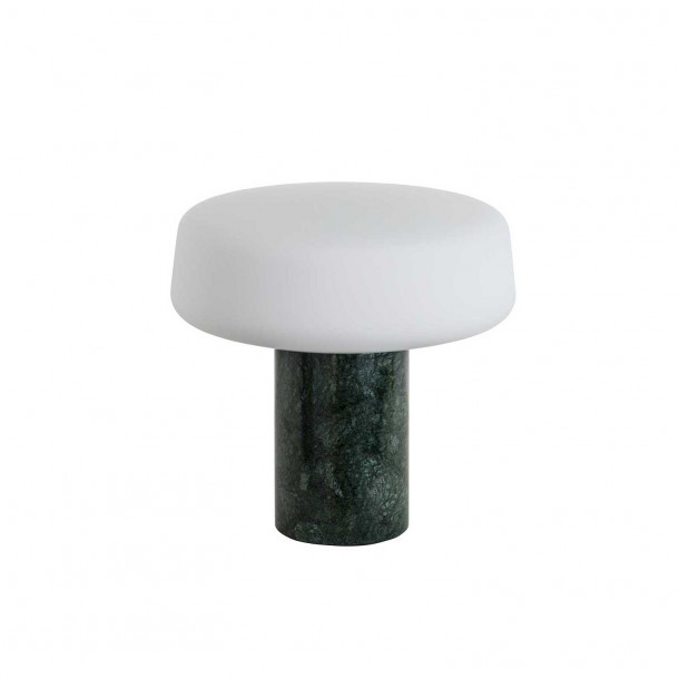 Solid Light - Small - Serpentine Green Table Lamp