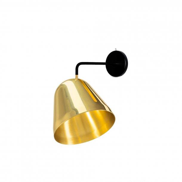 Tilt Brass Væglampe