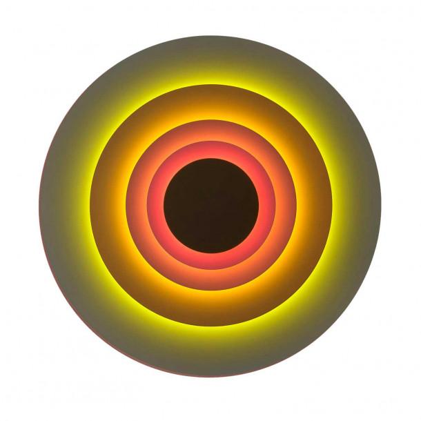 Concentric L Vegglampe