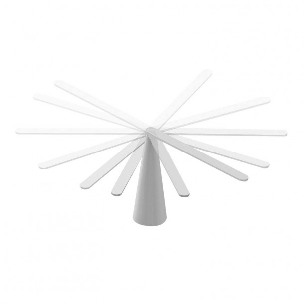 Elica Bordlampe hvid