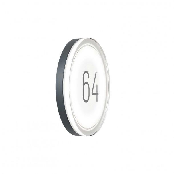 Lisc Number Udendørs Væglampe