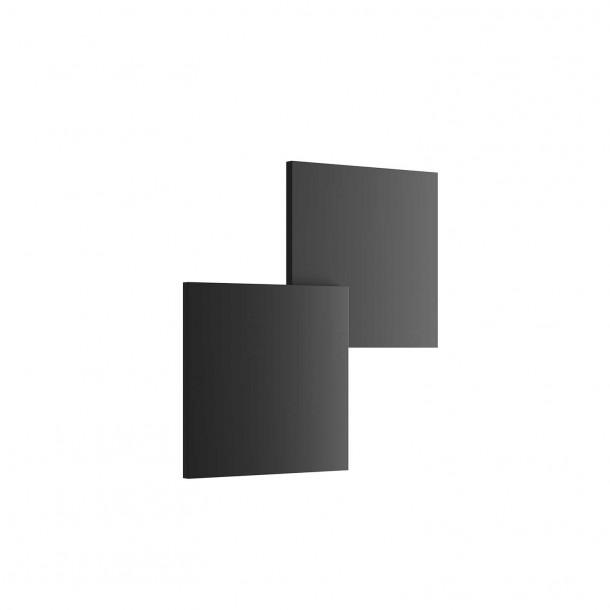 Puzzle Double Square LED Vegglampe