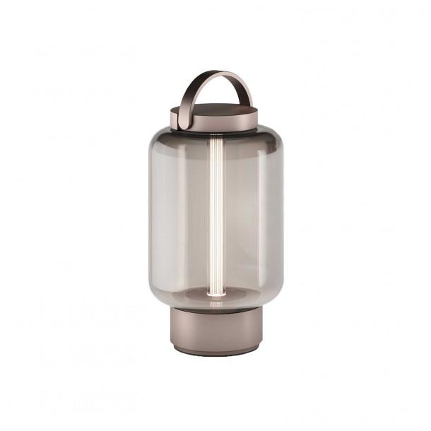 Qu lys bronse Lantern