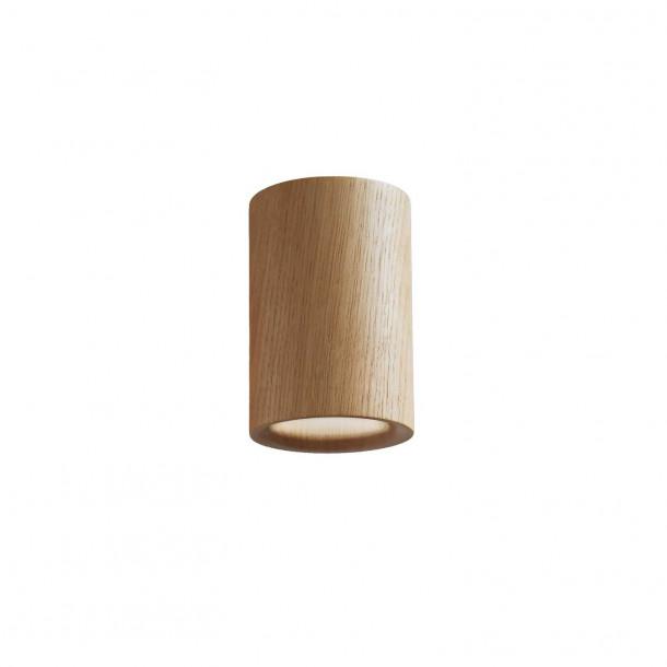 Solid Cylinder oak Downlight ceiling spotlight