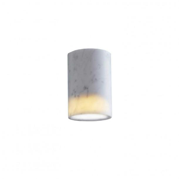 Solid Cylinder carrara Påbygningsspot