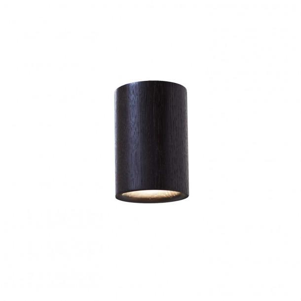 Solid Cylinder sort Påbygningsspot