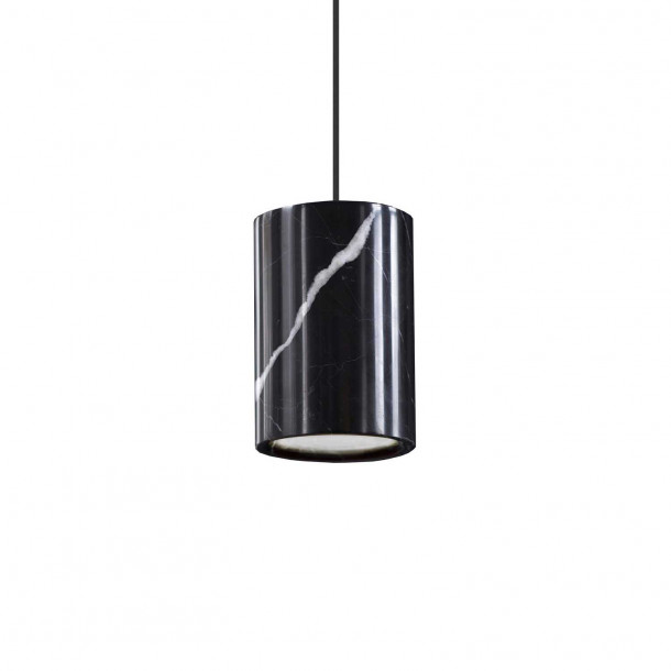 Solid Marquina Marble Pendant Light