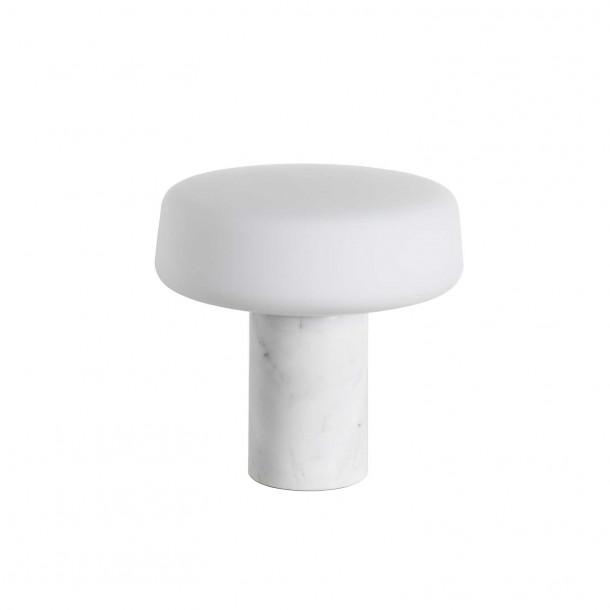 Solid Light - Small - Carrara Marmor Bordlampe