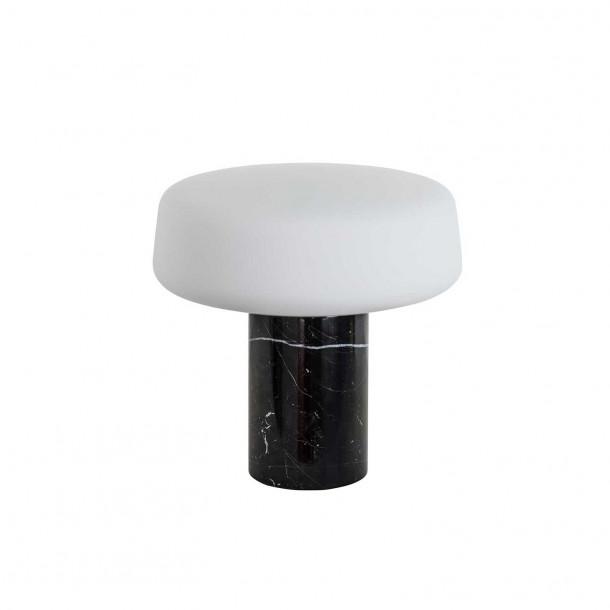Solid Light - Small - Nero Marquina Marmor Bordlampe