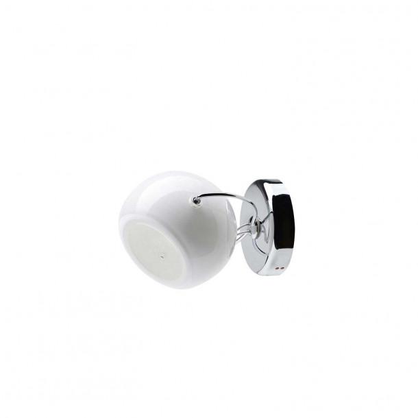 Beluga Hvit Vegglampe/Taklampe