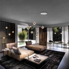Cluster Pendant Lights Living Room