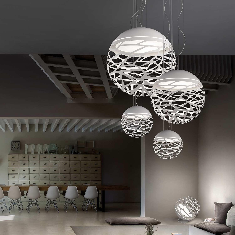 Kelly Small Sphere So2 Pendant Light Lampefeber