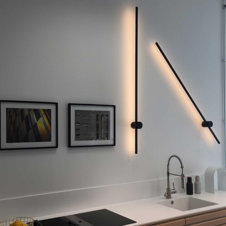 Um Vaeglampe I Minimalistisk Design Lampefeber